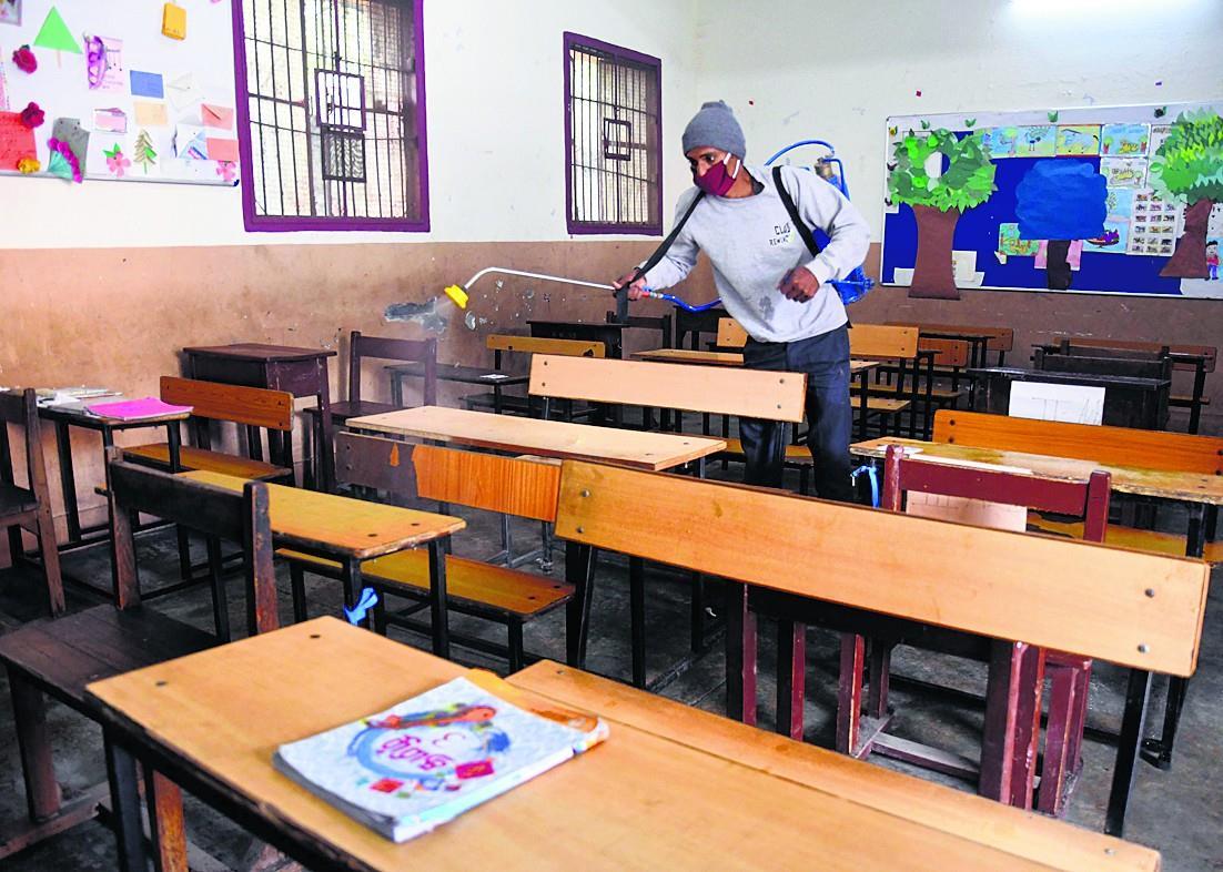 ਦਿੱਲੀ 'ਚ ਦਸਵੀਂ ਤੇ ਬਾਰ੍ਹਵੀਂ ਲਈ ਅੱਜ ਖੁੱਲ੍ਹਣਗੇ ਸਕੂਲ